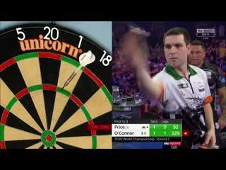 Gerwyn Price vs William O'Connor (PDC World Darts Championship 2020 / Round 2)
