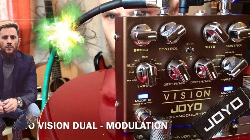 Обзор педали JOYO R-09 Vision