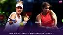 Julia Goerges vs Alison Riske 2019 Dubai First Round WTA Highlights