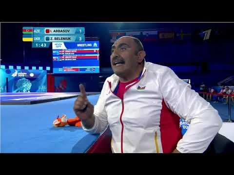 87кг Islam ABBASOV AZE vs Zhan BELENIUK UKR ЖОТ Евроигры 2019