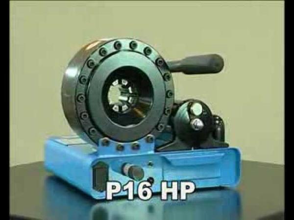 Finn-Power P16HP Manuel Hydraulic Hose Crimper Manuel Hidrolik Hortum El Presi