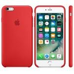Силиконовый чехол для iPhone 6/6s, красный