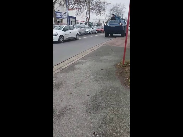 Gilets jaune 07 12 2018 Renfort qui arrive sur Bordeaux 😠😠😠