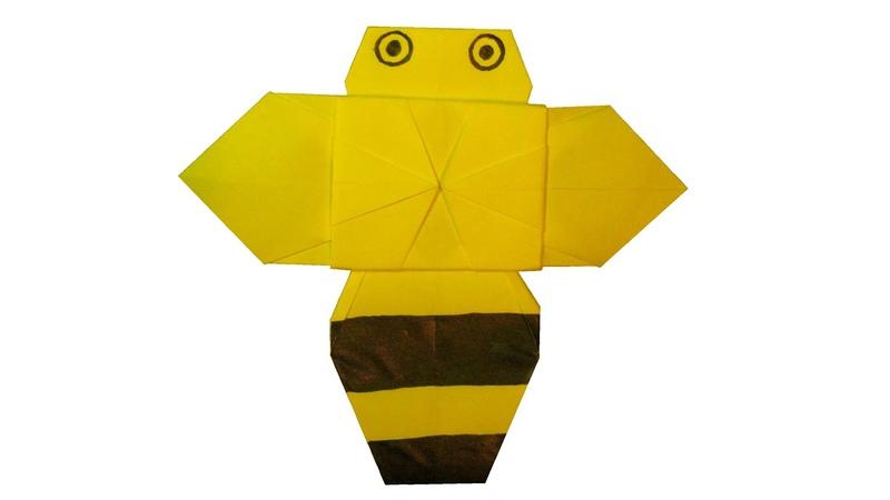 Пчела оригами juravliki.ru