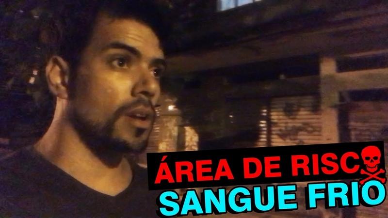 ARRISCADO EP 4 Perto de COMUNIDADE de madrugada Sozinho Rio de Janeiro!!