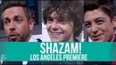 SHAZAM! PREMIERE (2019) | ZACHARY LEVI, ASHER ANGEL, JACK DYLAN GRAZER with RICK HONG