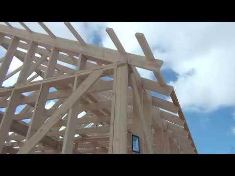 Расчет и строительство крыши каркасной конюшни
