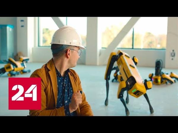 Будущее уже наступило: робот-пёс Spot от Boston Dynamics доступен для заказа Вести.net