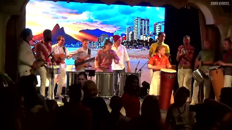 Ритмы от бразильской батукады Drum theater
