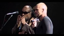 Sting and Stevie Wonder - Fragile (from Sting's 60th birthday concert)
