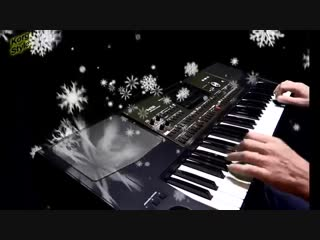 Korg pa 700 - korgstyle  mm-snow falls_ dance bass demoversion