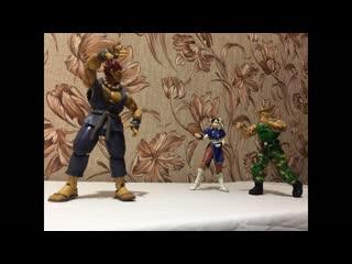 Моя коллекция фигурок по Street Fighter (Уличный Боец)