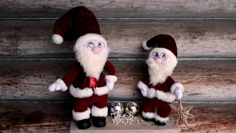 Шьем Санта Клауса\Мастер класс\Новогодний декор\