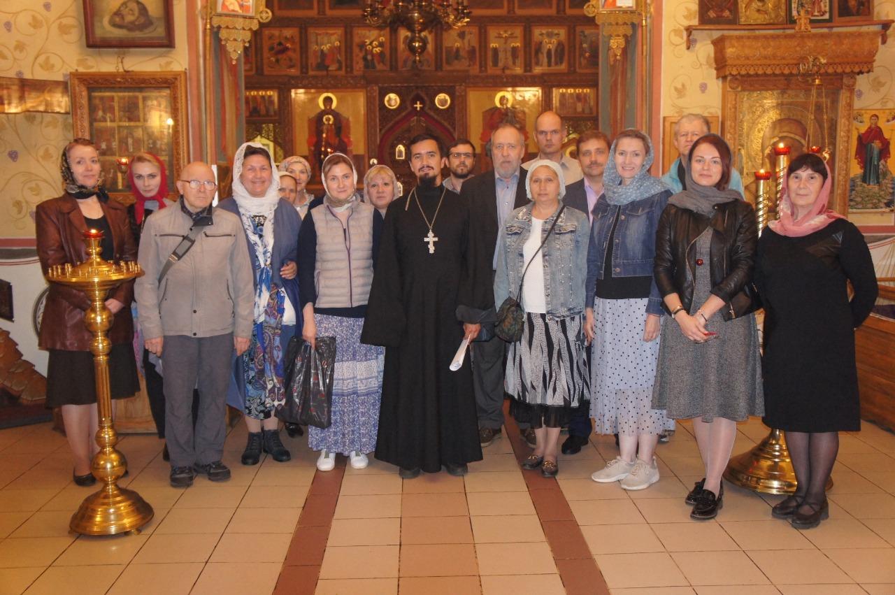 Встреча добровольцев храма святых Космы и Дамиана