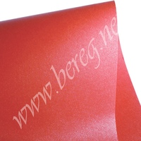 000255 Дизайнерский картон SHYNE Red 30*30см 290гр/м2  70руб. Обрезки 30*10 - 15 р. за лист