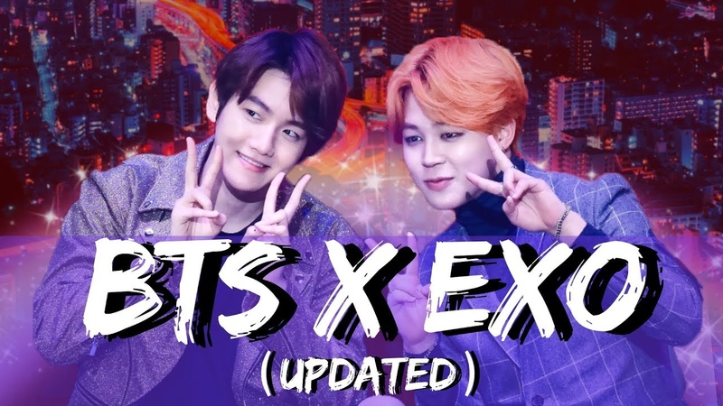 BTS X EXO Exotan Moments UPDATED 2018 KBS Gayo Daechukje Stop the Fanwars
