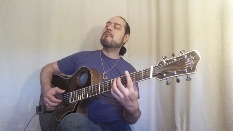 LHT guitars archtop Blue Skies arranged and performed by Nate Lopez