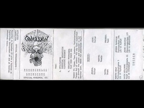 Afflicted Convulsion Psychedelic Grindcore 1989 Full Demo