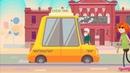 4 Рекламный ролик такси. | Adobe Animate CC 3ds Studio Max