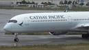 Cathay Pacific 1st Airbus A350-1000 B-LXA Takeoff from KIX 24L