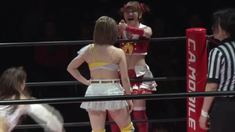 Maki Ito Mizuki vs Natsumi Maki Hikari Noa