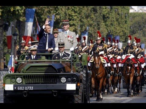 LIVE Sturm auf die Bastille – Parade zum französischen Nationalfeiertag