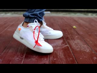 Nike air force 1 off white on feet review hd