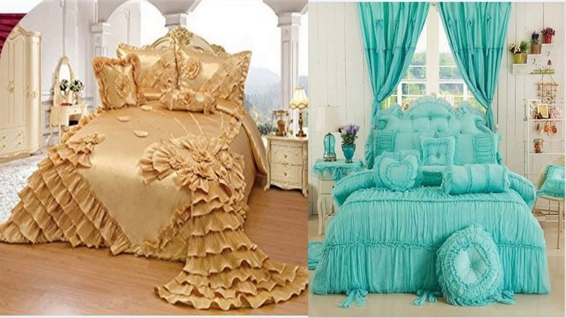 Top Stylish Bed sheet Designs Easy To Make At Home