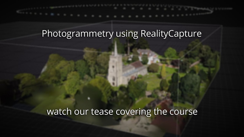 ENV260 Photogrammetry using RealityCapture