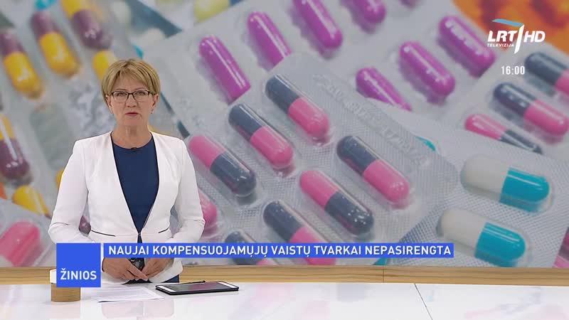 LRT HD - начало Новостей в 1600 (30.06.2020)