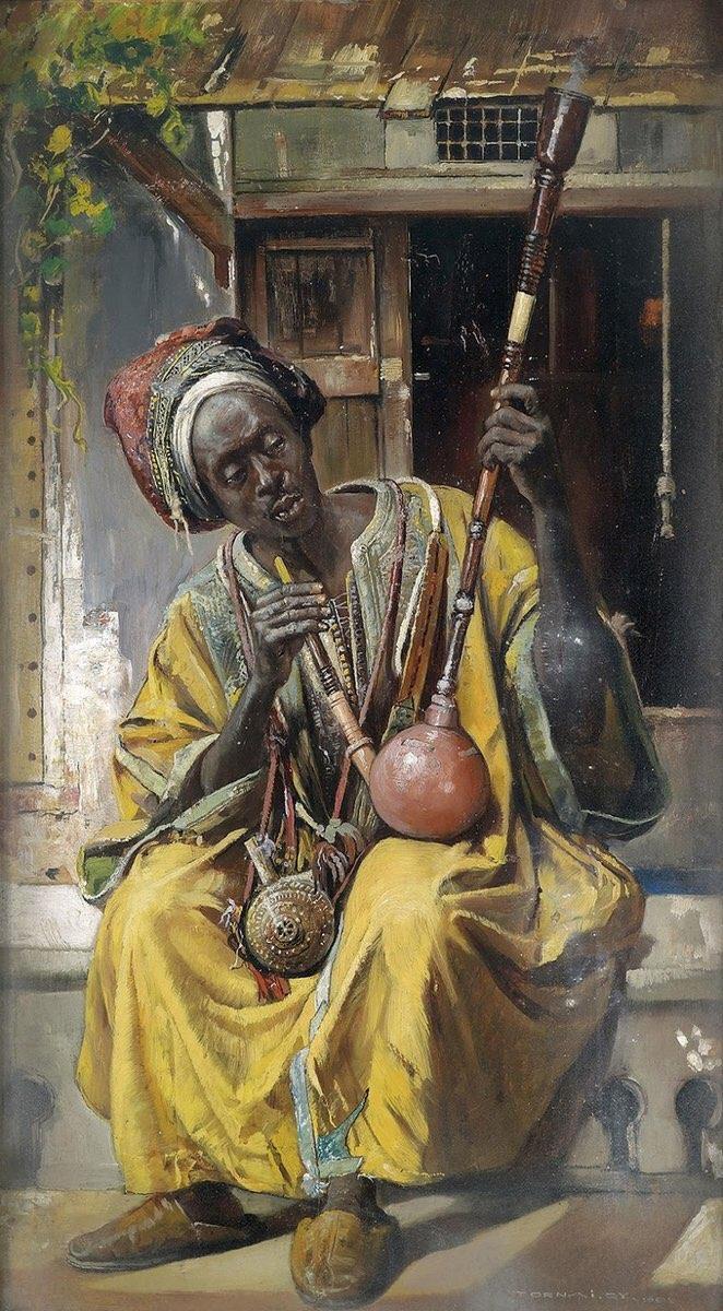 Один из первых африканских кальянов
