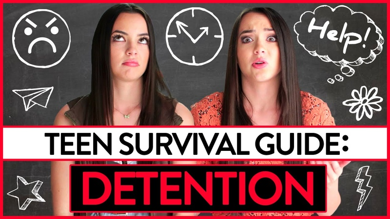 Detention | Teen Survival Guide w/ The Merrell Twins