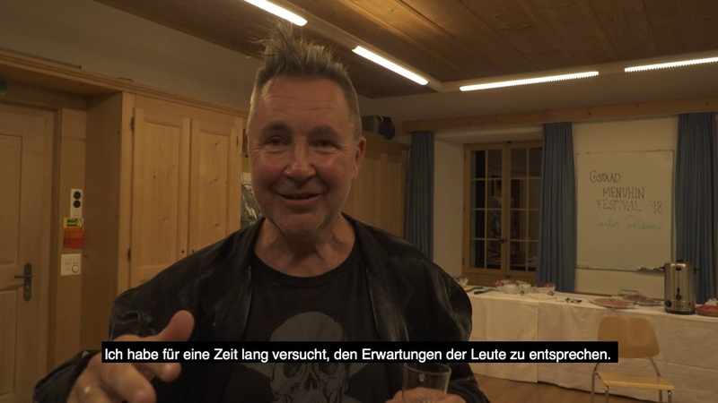 Nigel Kennedy on Bach writing music and the music industry