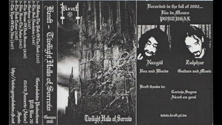 Kraft - Twilight Halls of Sorrow (2002) (Raw Black Metal)