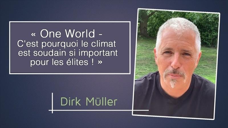 Dirk Müller Un seul monde C'est pourquoi le climat est soudain si important pour les élites