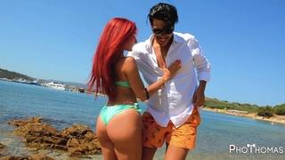 Aventura - Cuando Volveras ► [Maurizio Bollo & Simona] • Bachata En La Playa 2019