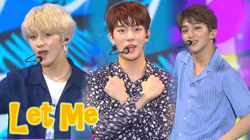 [HOT]Golden Child - LET ME , 골든차일드 - 렛미 Music core 20180728