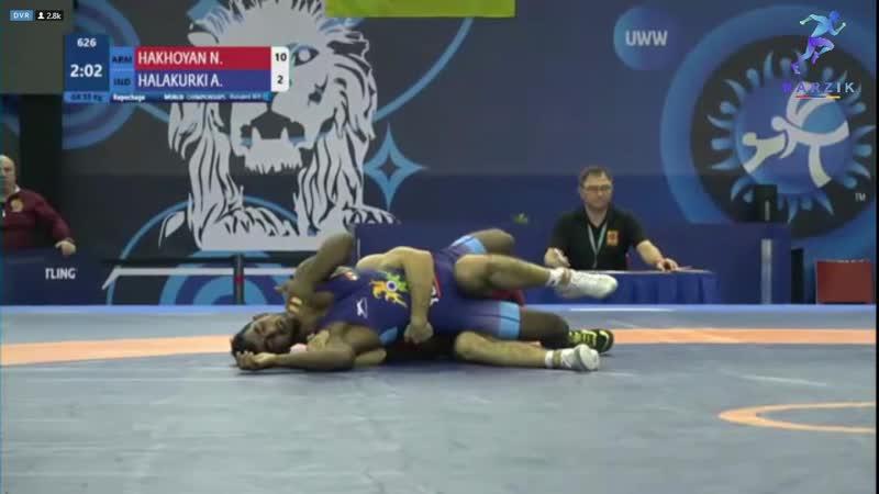 Norayr Hakhoyan U23 Senior World Championship