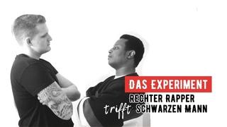 """""""Rechter Rapper"""" und Schwarzer treffen sich - schau, was passiert😱!!"""