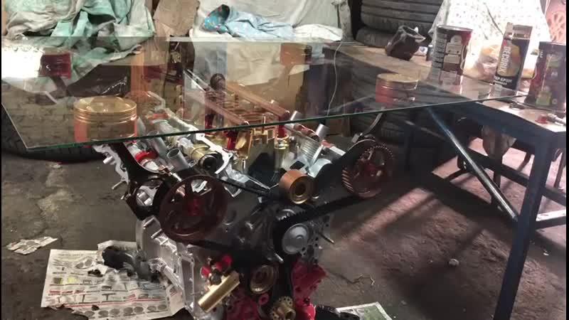 Стол из двигателя 1MZ-FE