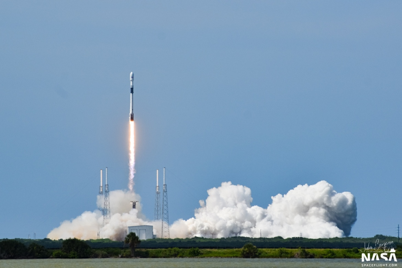 SpaceX запускает третий спутник GPS Block III.