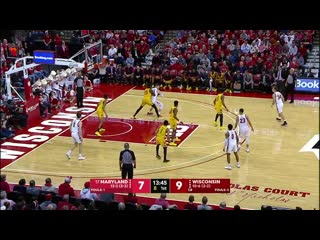 NCAAM 20200114 #17 Maryland vs. Wisconsin