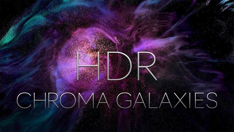 CHROMA GALAXIES HDR EXPERIMENTAL MACRO SHORT FILM SHOT IN 8K