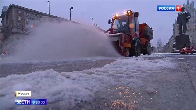 Вести в 20:00 • В Москве улицы превратились в реки, которые к ночи замерзнут