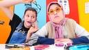Ayşe teyze gözlükçü Asu Ela'ya geliyor Komik çocuk videoları