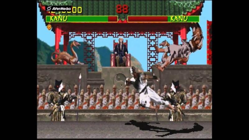 Mortal Kombat Arcade Kano Gameplay on Very Hard no Continues