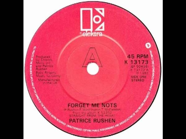 "Patrice Rushen Forget Me Nots"" UK Elektra 1982"