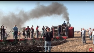 First Plowing Kory Anderson Case 150 HP Road Locomotive Steam Engine James Valley Threshers 2018