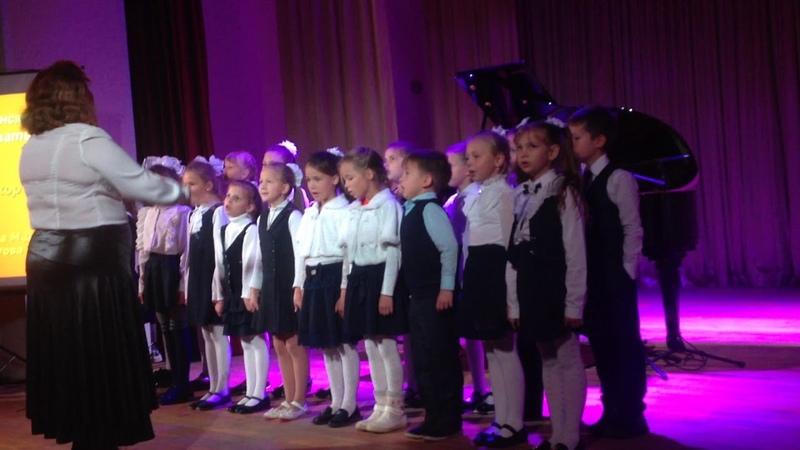 Дети любят рисовать Э Успенский В Шаинский Академический хор школы искусств с Тербуны 2018