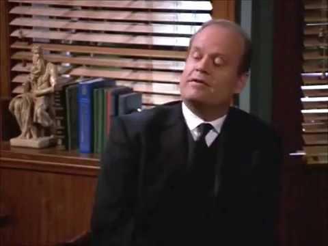 Frasier's edge Tewksbury scene